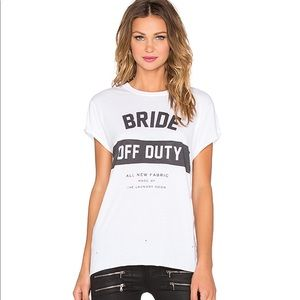 ▪️The Laundry Room▪️ Bride Off Duty Tee